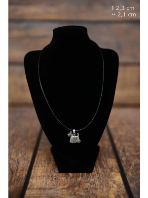 Scottish Terrier - necklace (strap) - 3863 - 37256
