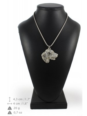 Setter - necklace (silver cord) - 3178 - 33099