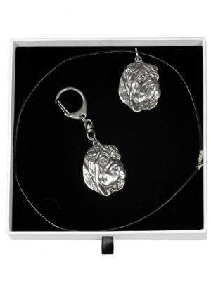 Shar Pei - keyring (silver plate) - 1948 - 14715