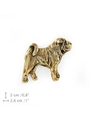 Shar Pei - pin (gold) - 1508 - 7588