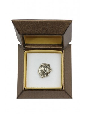 Shar Pei - pin (silver plate) - 2683 - 28965