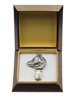 Shiba Inu - clip (silver plate) - 2584 - 28195