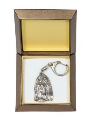 Shih Tzu - keyring (silver plate) - 2754 - 29873