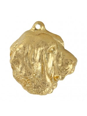 Spanish Mastiff - keyring (gold plating) - 2839 - 30201