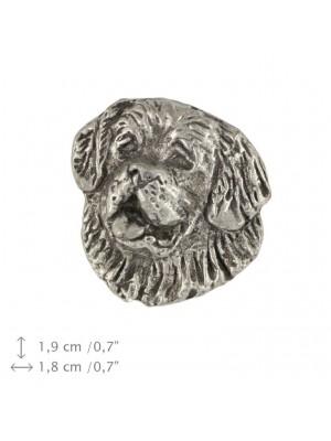 St. Bernard - pin (silver plate) - 454 - 25917