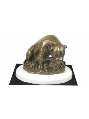 Staffordshire Bull Terrier - figurine (bronze) - 4568 - 41241