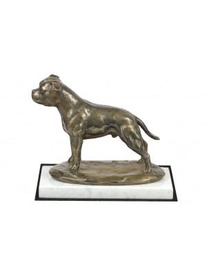 Staffordshire Bull Terrier - figurine (bronze) - 4612 - 41476