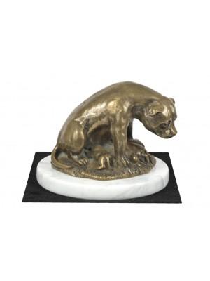 Staffordshire Bull Terrier - figurine (bronze) - 4613 - 41482