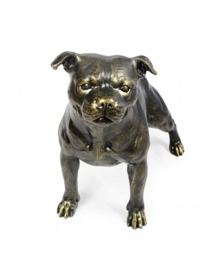 Staffordshire Bull Terrier - statue (resin) - 1599 - 8395