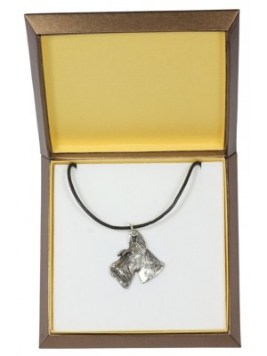 Switch Terrier - necklace (silver plate) - 2921 - 31065
