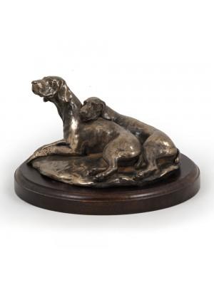 Weimaraner - figurine (bronze) - 624 - 2767