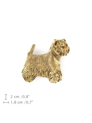 West Highland White Terrier - pin (gold plating) - 1062 - 7709