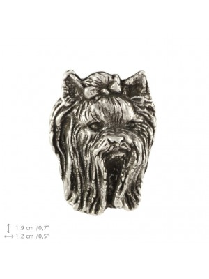 Yorkshire Terrier - pin (silver plate) - 2223 - 22278