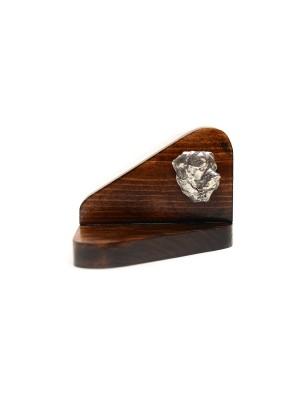 Rottweiler - candlestick (wood) - 3553