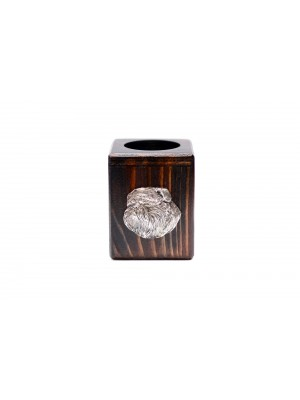 Belgium Griffon - candlestick (wood) - 3925