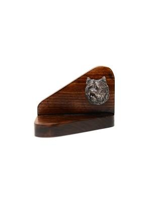 Cairn Terrier - candlestick (wood) - 3610