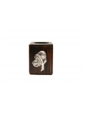 Bloodhound - candlestick (wood) - 3952