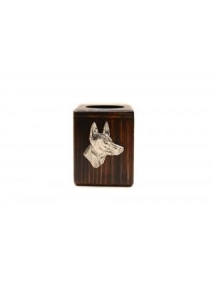 Pharaoh Hound - candlestick (wood) - 3965