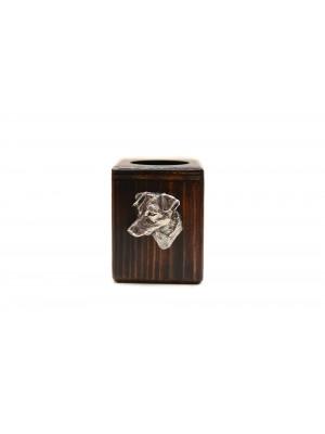 Jack Russel Terrier - candlestick (wood) - 3966