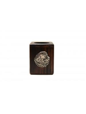 Newfoundland  - candlestick (wood) - 3898