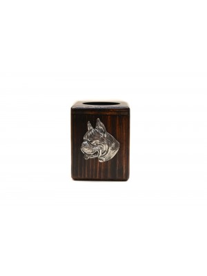 Boxer - candlestick (wood) - 3913