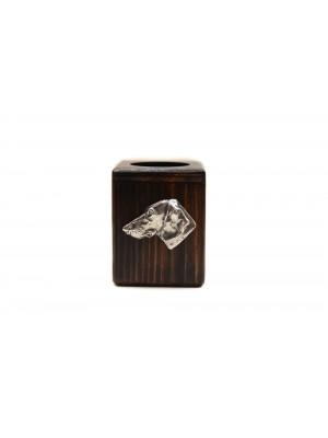 Dachshund - candlestick (wood) - 3917