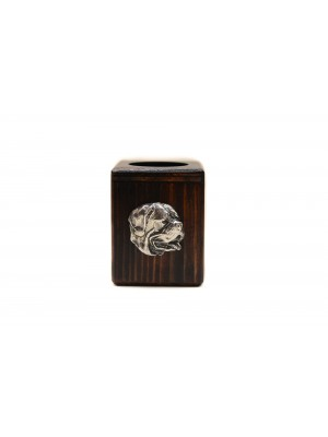 Dog de Bordeaux - candlestick (wood) - 3930