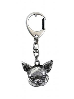 Chihuahua - keyring (silver plate) - 102