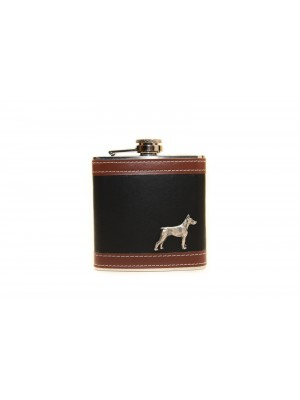 Doberman pincher - flask - 3516