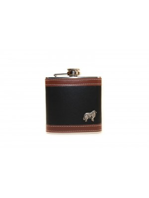 Rough Collie - flask - 3537
