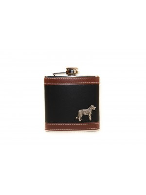 Irish Wolfhound - flask - 3540