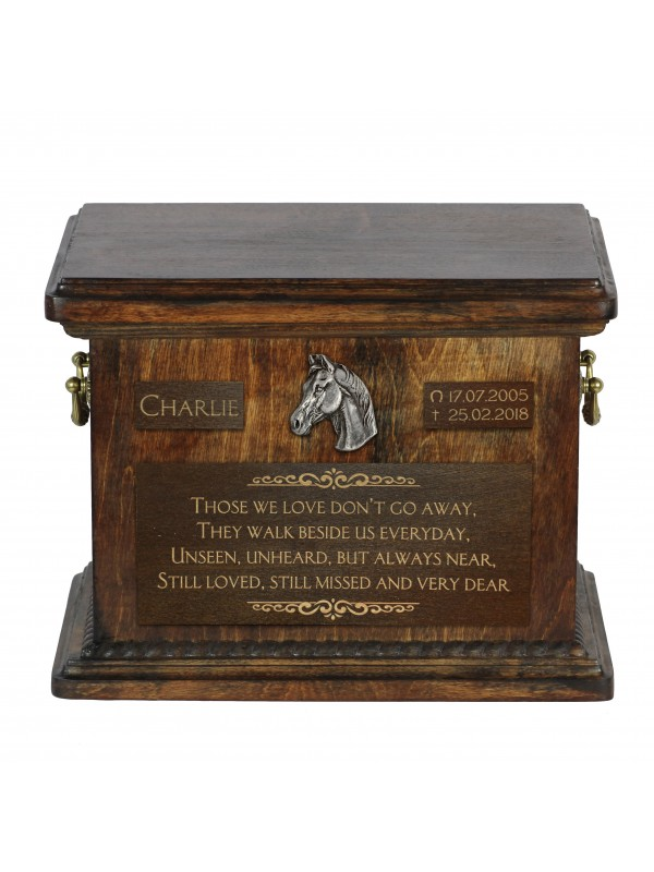 Urn for horses ashes