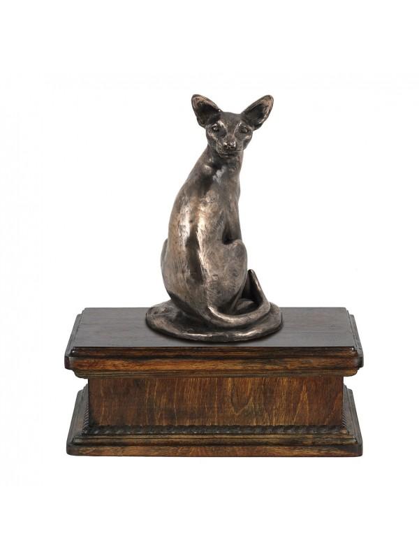 Egyptian Mau- exlusive urn