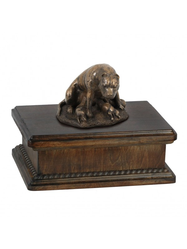 Staffordshire Bull Terrier mama- exlusive urn