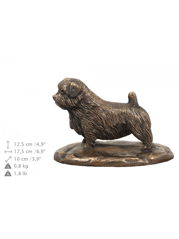 Norfolk Terrier- exlusive urn