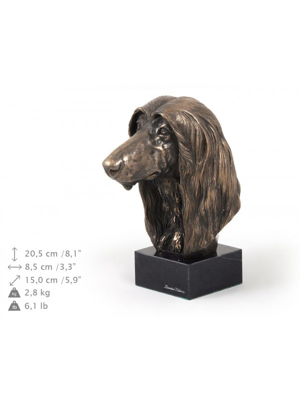 Afghan Hound - figurine (bronze) - 159 - 9095