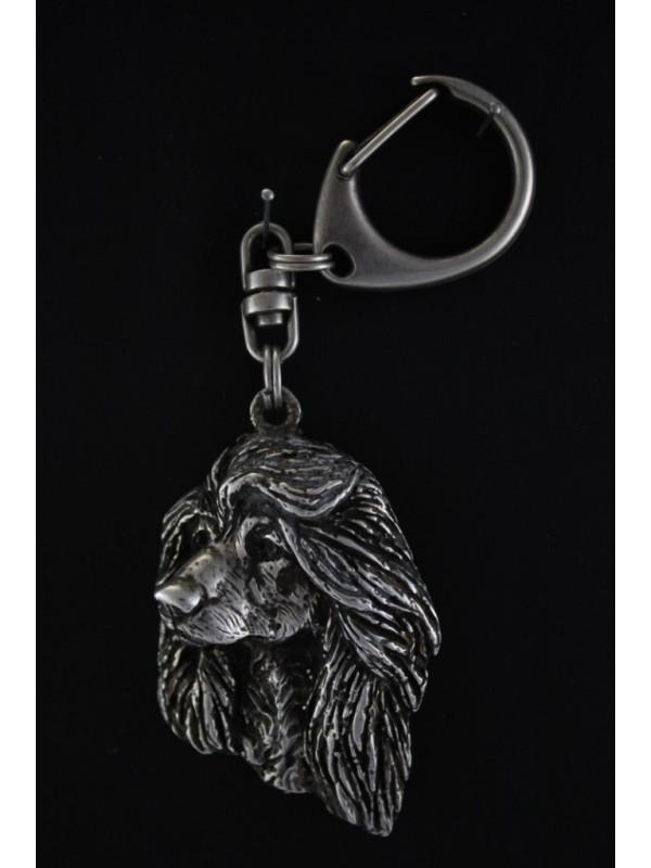 Afghan Hound - keyring (silver plate) - 65 - 385