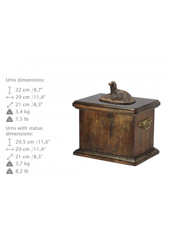 Afghan Hound - urn - 3687 - 36035
