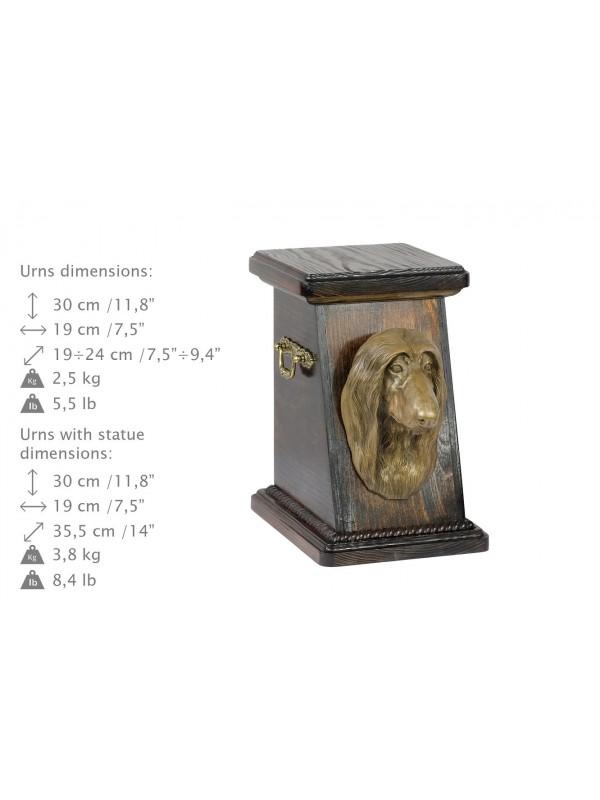 Afghan Hound - urn - 3690 - 36059
