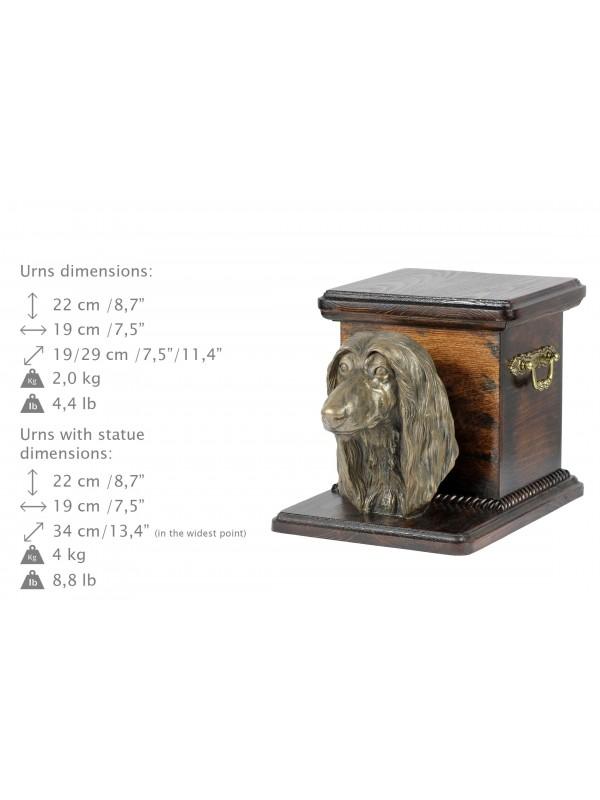 Afghan Hound - urn - 3692 - 36073