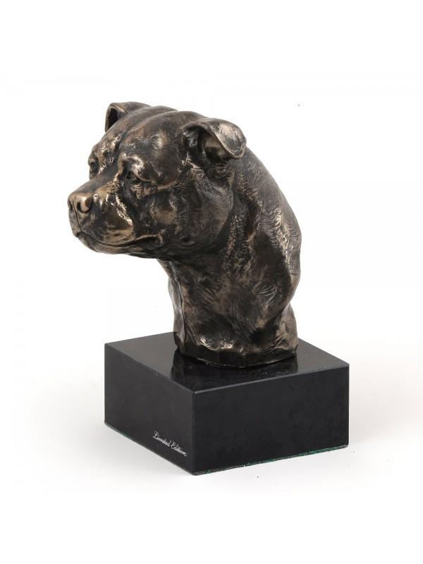 American Staffordshire Terrier - figurine (bronze) - 214 - 2992