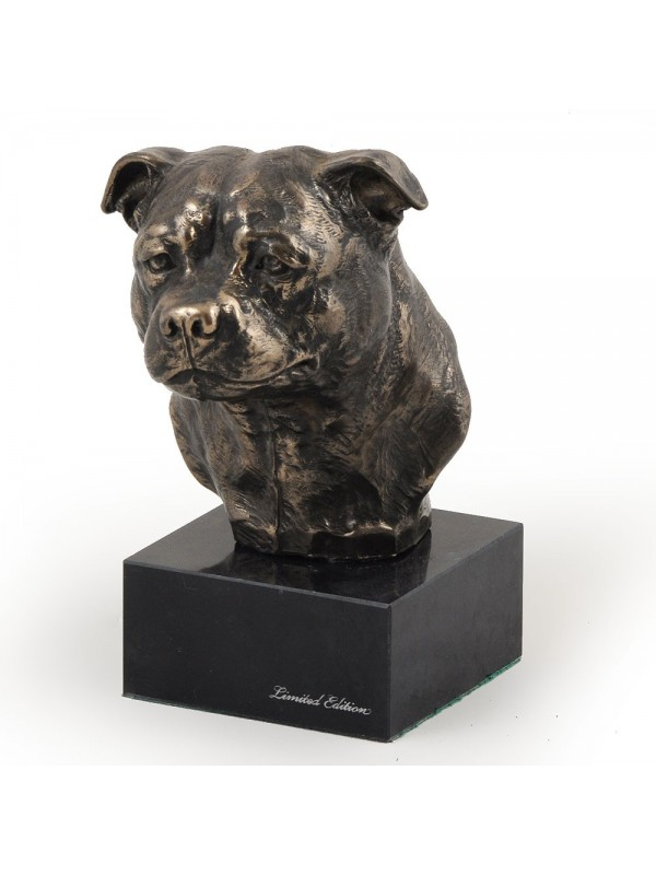 American Staffordshire Terrier - figurine (bronze) - 214 - 2993