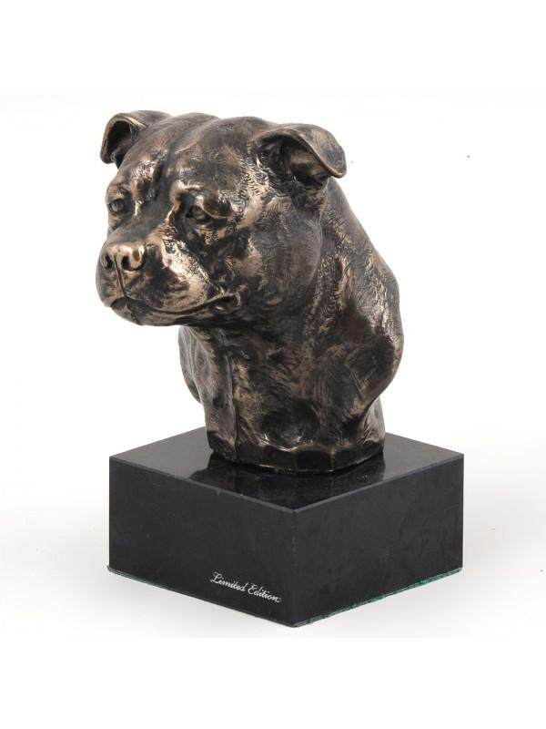 American Staffordshire Terrier - figurine (bronze) - 214 - 2995