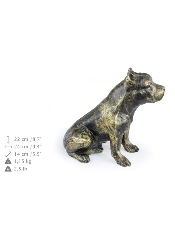 American Staffordshire Terrier - figurine (resin) - 345 - 16246