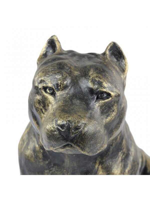 American Staffordshire Terrier - figurine (resin) - 345 - 16240