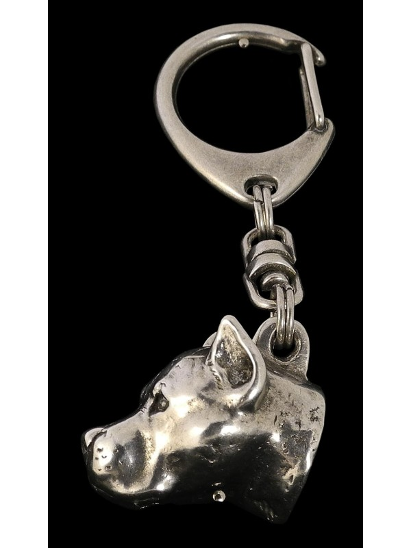 American Staffordshire Terrier - keyring (silver plate) - 27 - 183