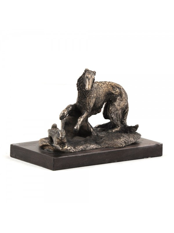 Barzoï Russian Wolfhound - figurine (bronze) - 580 - 3138