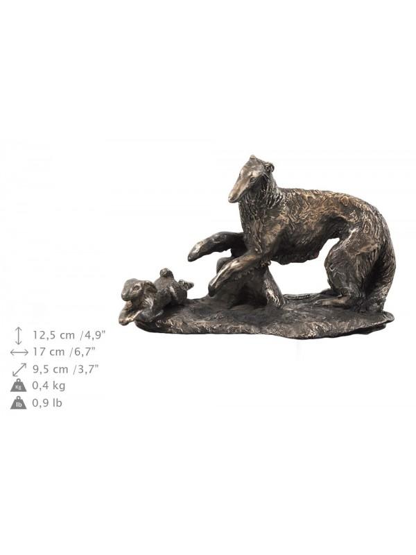 Barzoï Russian Wolfhound - urn - 4032 - 38087