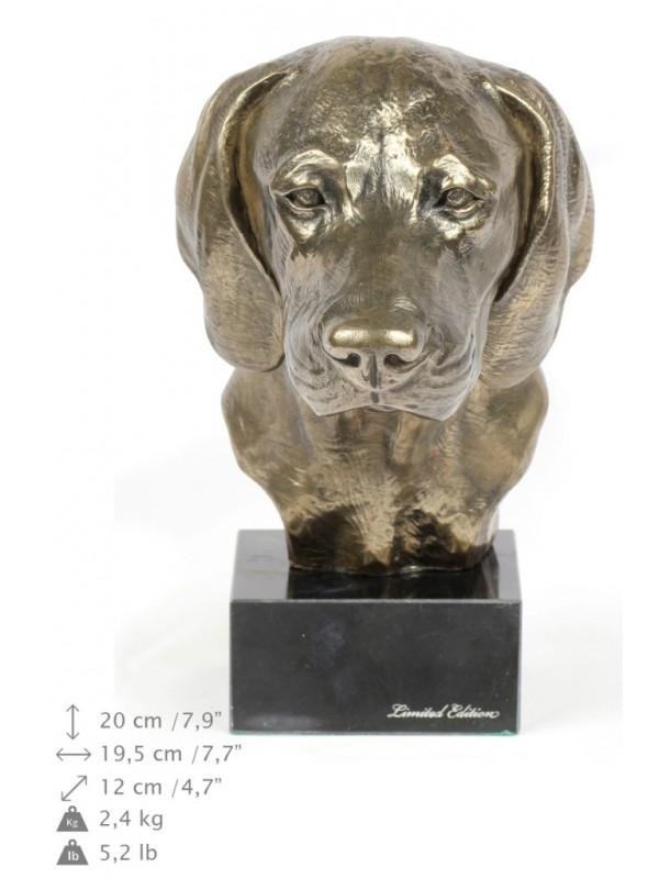 Bavarian Mountain Hound - figurine (bronze) - 171 - 22110