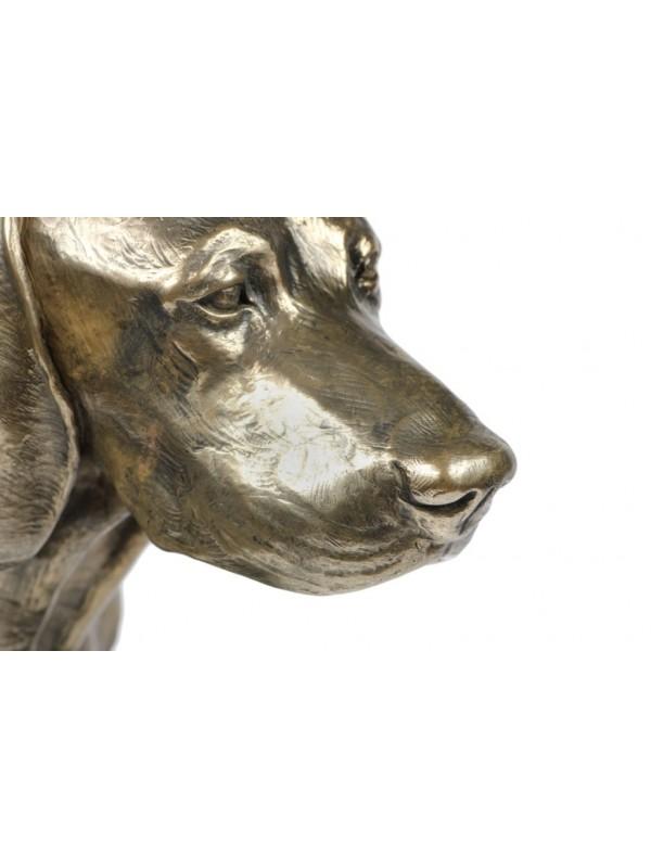 Bavarian Mountain Hound - figurine (bronze) - 171 - 22120
